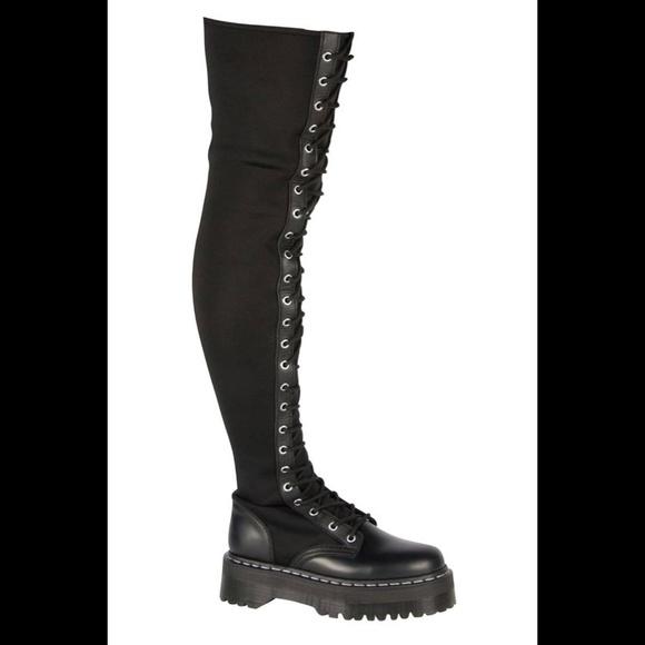 6fa08413174c Dr. Martens Shoes - Agyness Deyn Knee High Dr. Martens UK4